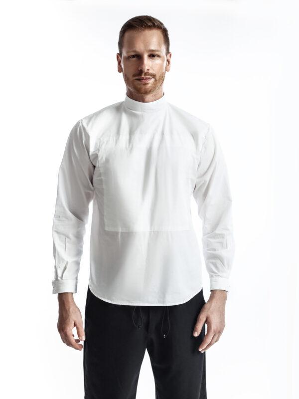 shirt men white shirt clothing dressing menswear fashion central saint martins marko feher bosnia